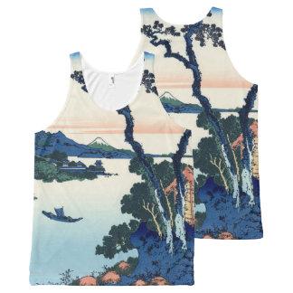 Lake Suwa by Hokusai All-Over-Print Tank Top