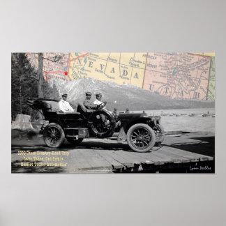 Lake Tahoe 1908 Poster
