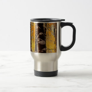 Lake Tahoe Aspen Trees Travel Mug