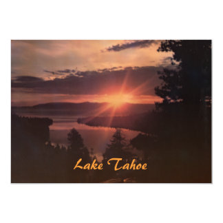 Lake Tahoe at Sunrise Party Invitation
