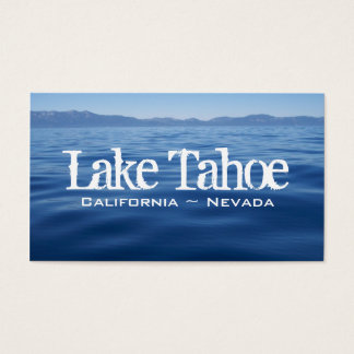 Lake Tahoe Business Card