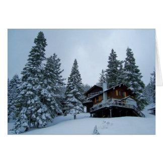 Lake Tahoe Cabin Card
