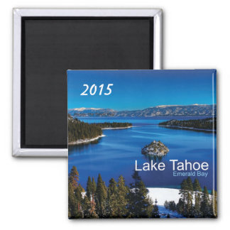 Lake Tahoe California Fridge Magnet Change Year