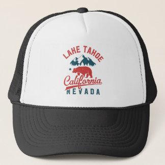 Lake Tahoe California Nevada Trucker Hat