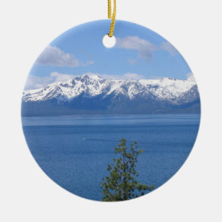 Lake Tahoe California Ornament