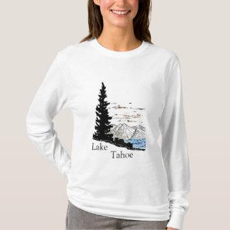 Lake Tahoe DigiArt, Lake, Tahoe T-Shirt