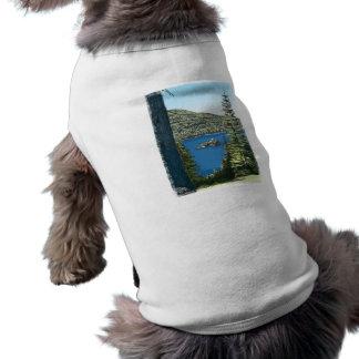 Lake Tahoe Dog Tshirt