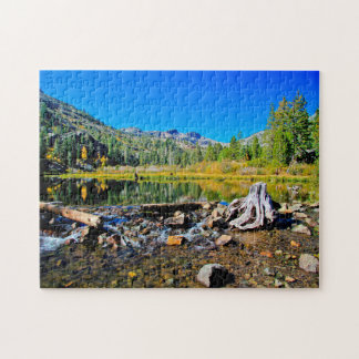 Lake Tahoe Emerald Bay. Puzzle