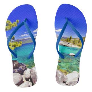 Lake Tahoe Flip Flops