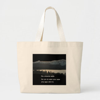 Lake Tahoe Haiku 2012 Large Tote Bag