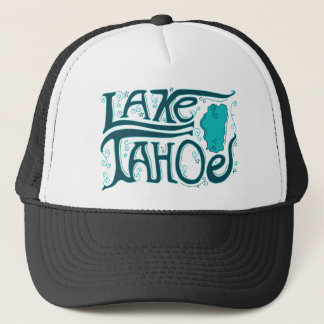 Lake Tahoe Hand Drawn Logo Trucker Hat