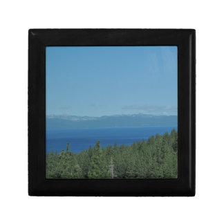 Lake Tahoe Jewelry Box