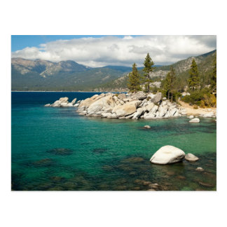 Lake Tahoe Landscape Postcard