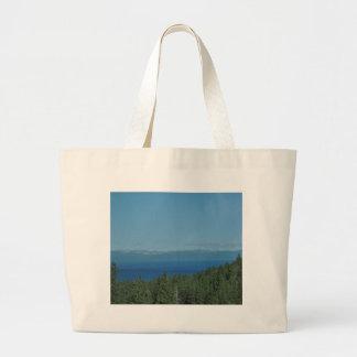 Lake Tahoe Large Tote Bag