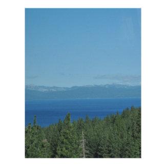 Lake Tahoe Letterhead Template