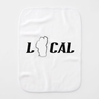 Lake Tahoe Local Burp Cloth