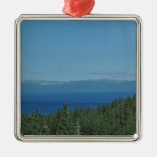 Lake Tahoe Metal Ornament