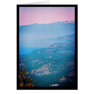 Lake Tahoe Mist- Song of Sol. 5:14 Greeting Card