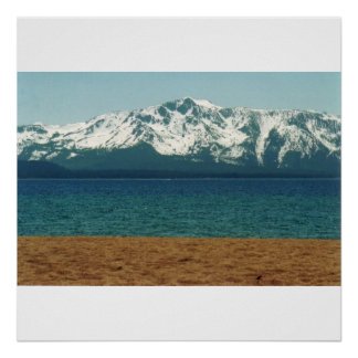 Lake Tahoe Nevada Beach Poster