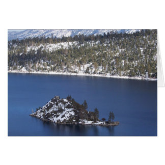 Lake Tahoe Note Card