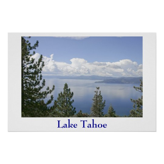 Lake Tahoe Poster