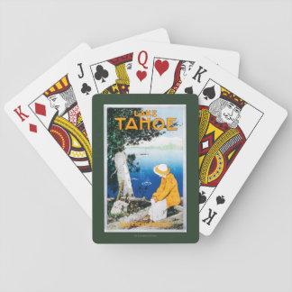 Lake Tahoe Promotional PosterLake Tahoe, CA Playing Cards
