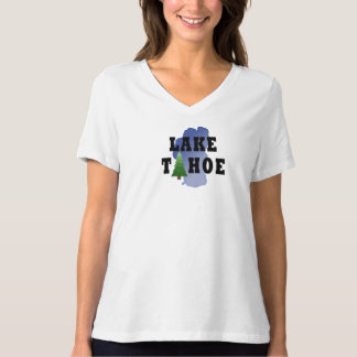 Lake Tahoe Relaxed Fit Jersey Vneck T-Shirt