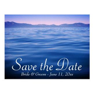 Lake Tahoe Save the Date Postcard