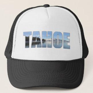 Lake Tahoe Text Trucker Hat