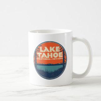 Lake Tahoe Vintage Travel Decal Design Coffee Mug