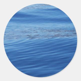Lake Tahoe Water Classic Round Sticker