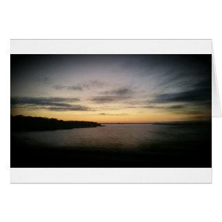 Lake Texoma Sunset Card