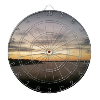 Lake Texoma Sunset Dartboard