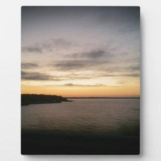 Lake Texoma Sunset Plaque
