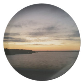 Lake Texoma Sunset Plate