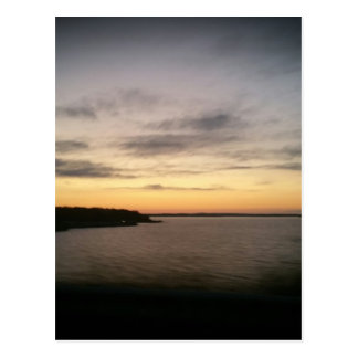 Lake Texoma Sunset Postcard