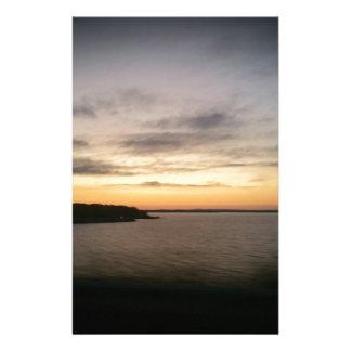 Lake Texoma Sunset Stationery
