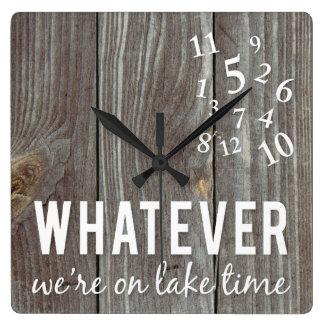 Lake Time Clock