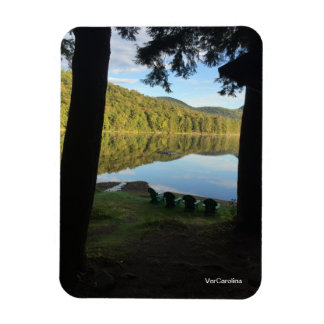 Lake View Cabin Magnet