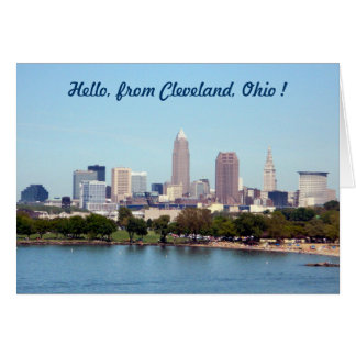 Lake View Cleveland Ohio Greeting Card
