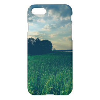Lake View Custom iPhone 7 Glossy Case