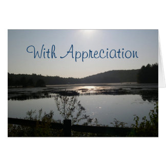 Lake View Pastor Appreciation Card