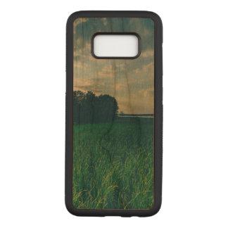 Lake View Samsung Galaxy S8 Slim Cherry Wood Case