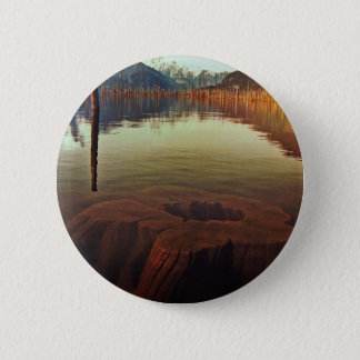Lake View Standard, 2¼ Inch Round Button