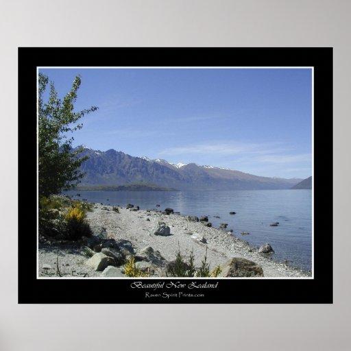 """LAKE WAKATIPU, NZ"" Photo Poster"