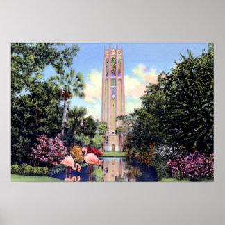 Lake Wales Florida Bok Singing Tower Poster
