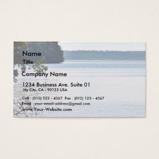 Lake Water On Wind Business Card