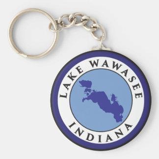 Lake Wawasee, Indiana Keychain