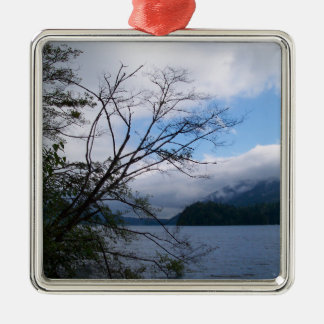 Lake Whatcom Metal Ornament