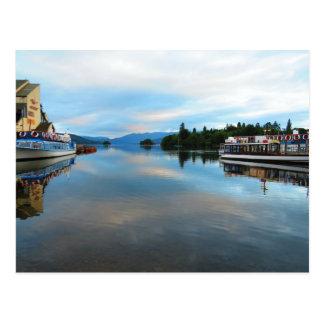 LAKE WINDEMERE, THE LAKE DISTRICT - UK POSTCARD